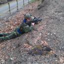 Trench Warfare at the Covert Combat Outdoor Lazertag SIte