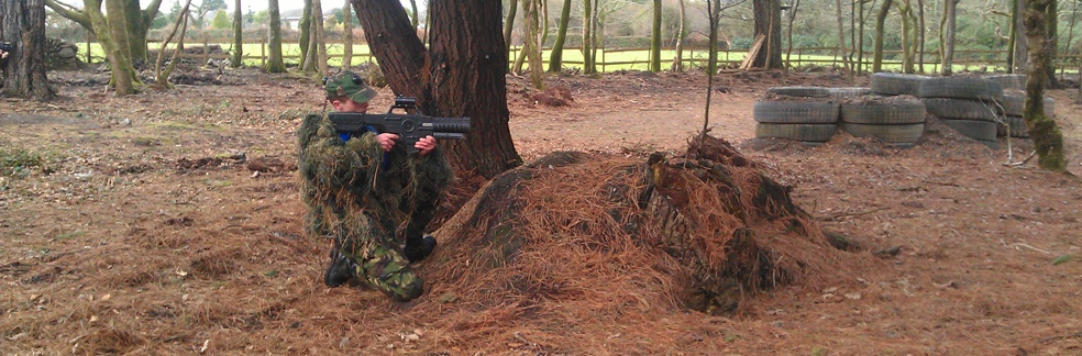 Covert Combat Lazertag in Woodland