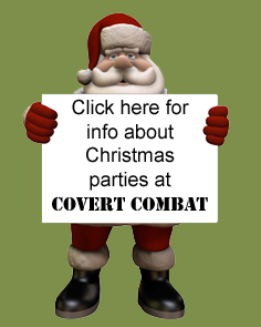 Click here for info about Christmas Parties at Covert Combat