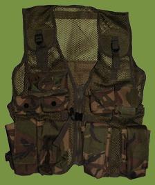 Camouflage Combat Vest / Assault Vest