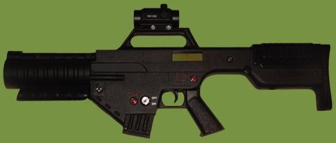 Covert Combat Lazertag Lazer Combat Medium Assault Rifle