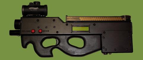 Covert Combat Lazertag Lazer Combat P90 SMG PDW